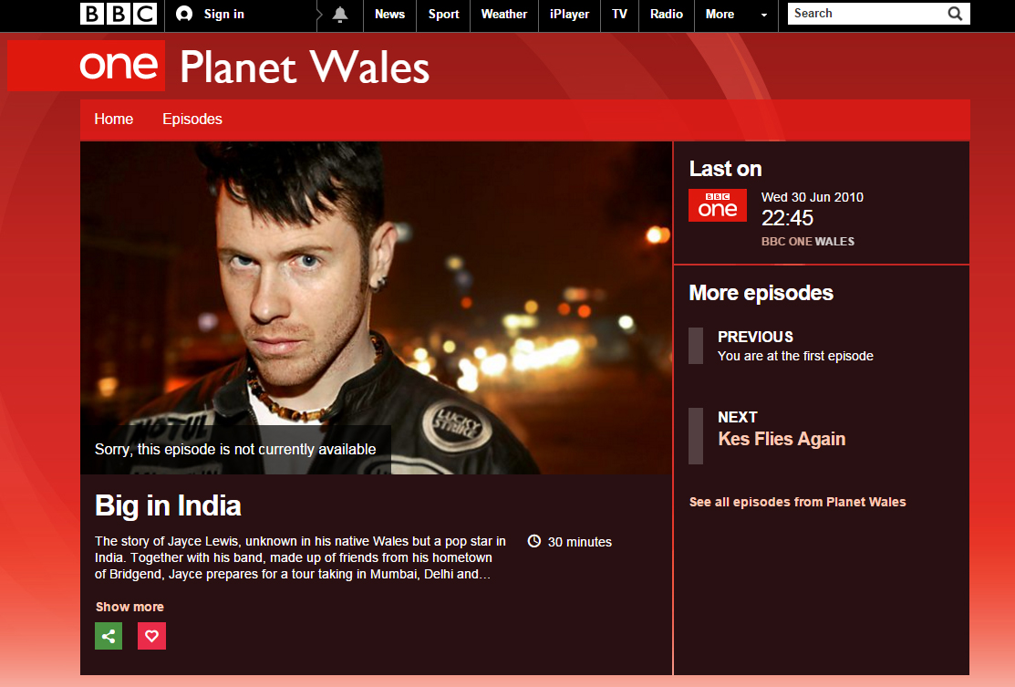 Jayce Lewis, Protafield, India, VH1, MTV, BBC 1, BBC 1 BIG IN INDIA